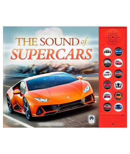 The Sound of Super Cars - front cover