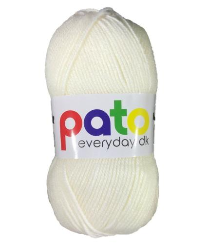 Cygnet Pato Everyday DK Knitting Yarn in Cream 789
