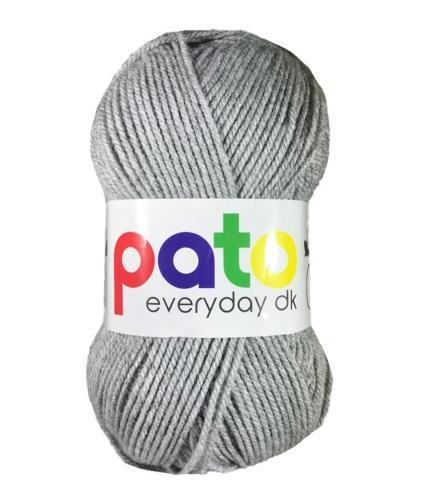 Cygnet Pato Everyday DK Knitting Yarn in Light Grey 978