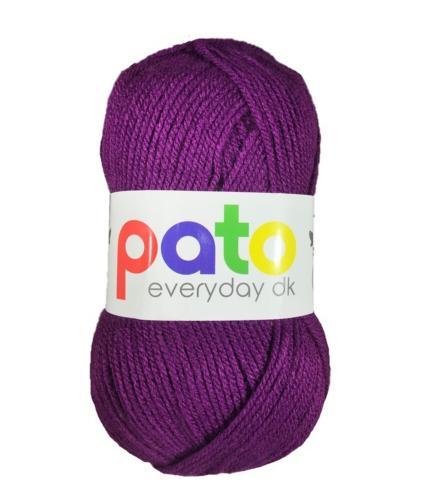 Cygnet Pato Everyday DK Knitting Yarn in Purple 984