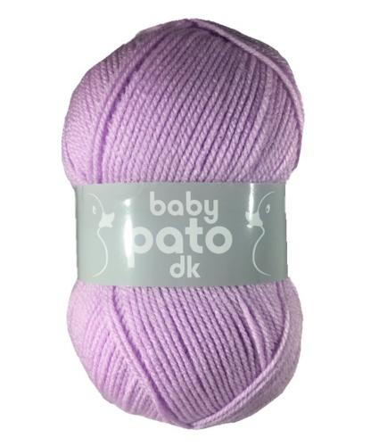 Cygnet Baby Pato DK Knitting Yarn in Lilac 782