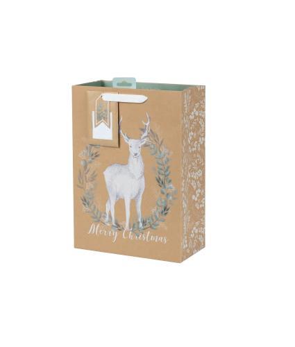Tom Smith Woodland Wonder Luxury Gift Bag - Large