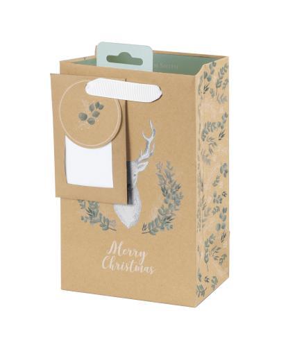 Tom Smith Woodland Wonder Luxury Gift Bag - Small