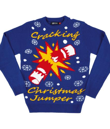 Cracking Unisex Christmas Jumper