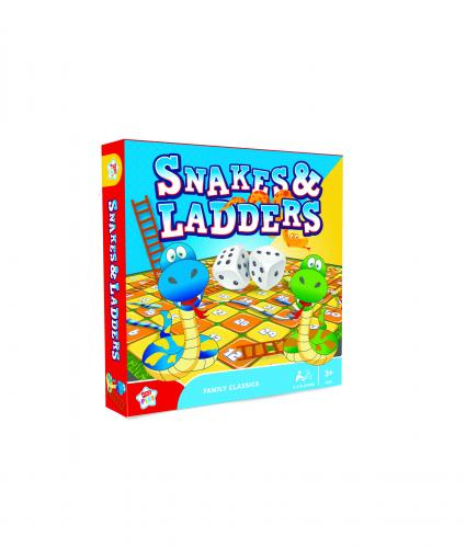 Snakes and Ladders Family Board Game