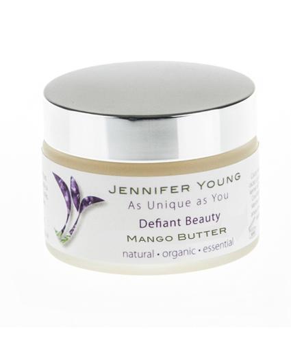 Defiant Beauty Natural Body Butter in Mango