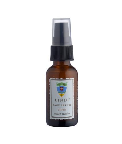 Lindi Skin Restoring Face Serum in Citrus