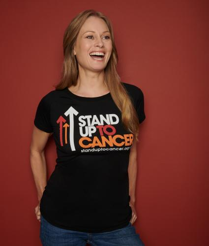 Stand Up To Cancer Womens T-Shirt