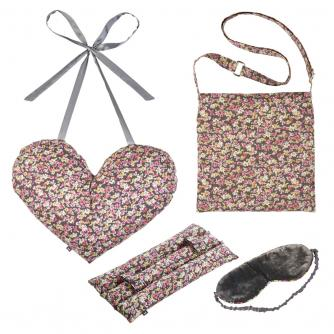 4 Piece Mastectomy Gift Collection in Floral Print