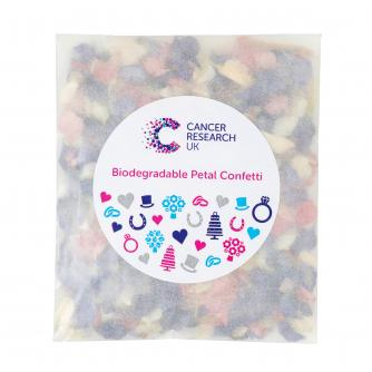 Biodegradable Dried Wildflower Petal Confetti