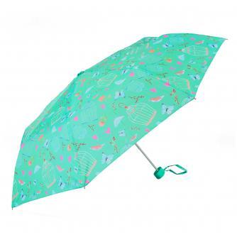 Birds, Butterflies and Hearts Print Umbrella