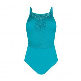 Amoena Brazil Pocketed Swimsuit in Jade