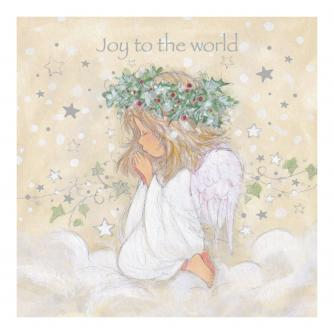 Joy To The World Christmas Cards - Pack of 10