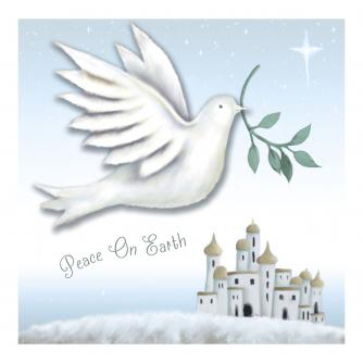 Peace and Joy Christmas Cards - Pack of 10