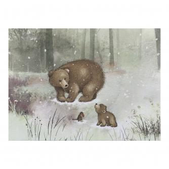 Woodland Duo Christmas Cards - Pack of 16