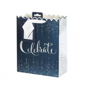 Tom Smith Midnight Celebration Luxury Gift Bag - Medium