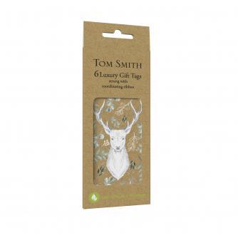 Tom Smith 6 Luxury Woodland Wonder Gift Tags