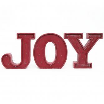 Joy LED Letter Light  Set