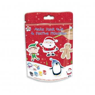Make Your Own Festive Figurines Christmas Activity