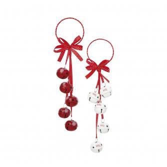 Jingle Bells Door Hanger Decoration