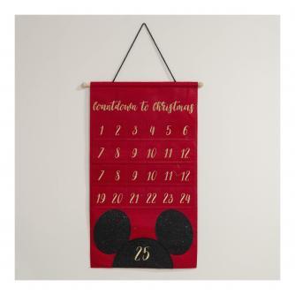 Disney Mickey Mouse Reusable Hanging Advent Calendar