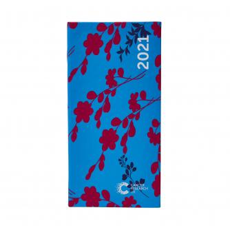 2021 Pocket Diary Blue Floral