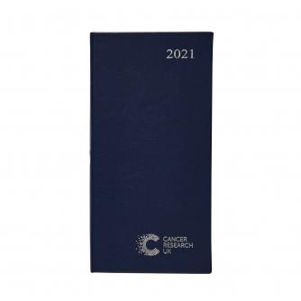 2021 Pocket Diary Dark Blue