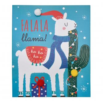 Fa La La Llama Christmas Cards - Pack of 6