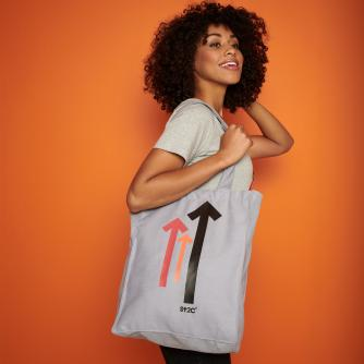 Grey Stand Up To Cancer Tote Bag