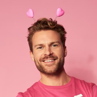 Race for Life Heart Head Boppers