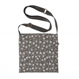 Cancer Research UK Online Shop Cross Body Drain Bag in Mono Flower Print