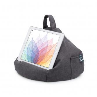 iBeani Slate Grey Tablet Bean Bag Stand