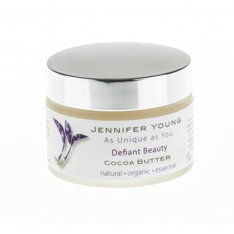 Defiant Beauty Natural Body Butter in Cocoa