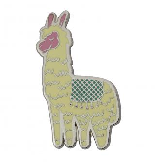 Llama Novelty Pin Badge