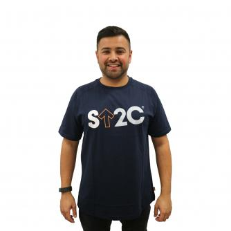 Stand Up To Cancer Men's Navy T-shirt