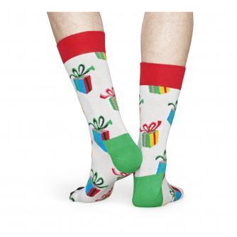 Happy Socks Christmas Present Socks