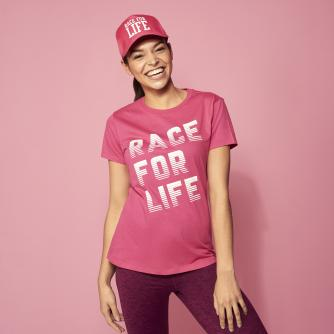 Race for Life 2019 Racer Design Fitted T-shirt