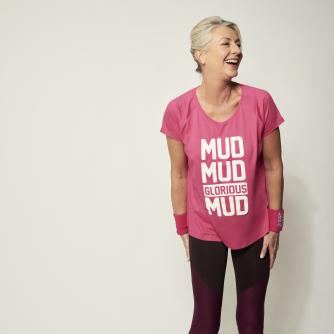 Pretty Muddy Mud Mud Glorious Mud Slogan Loose Fit T-shirt