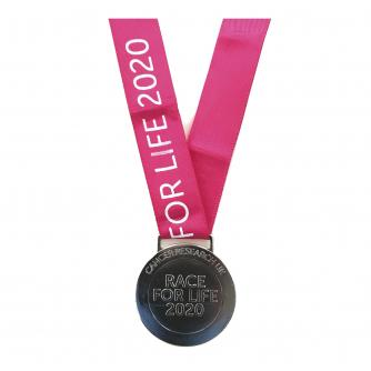 Race for Life 2020 Medal