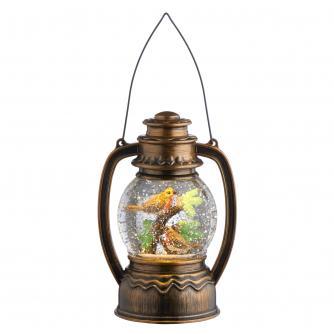 Rustic Robin Lantern