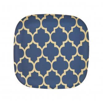 Geo Print Bamboo Side Plate