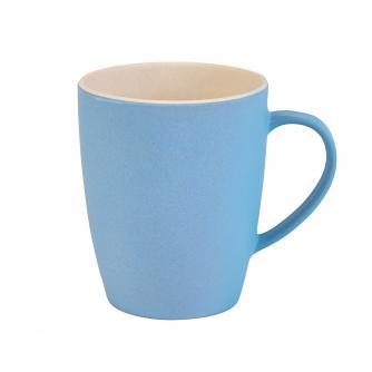 Blue 2-Tone Bamboo Mug