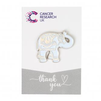 Silver Elephant Wedding Favour