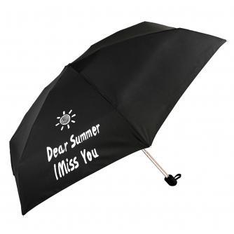 Dear Summer I Miss You Slogan Umbrella