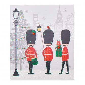 Three Guards Christmas Cards - Pack of 6