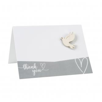 White Place Cards - Pack of 10