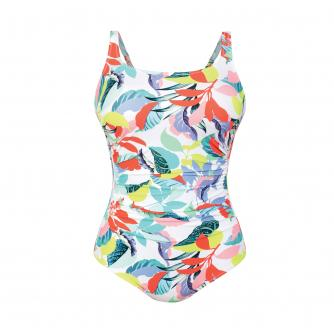 Anita Baku Splash Pocketed Swimsuit in Multi