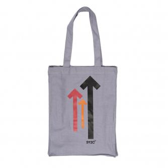 Grey Stand Up To Cancer Tote Bag Front